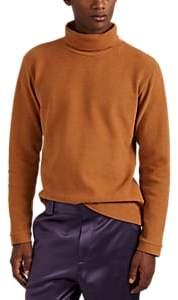 BEIGE Sies Marjan Men's Cotton Chenille Turtleneck Sweater - Beige, Tan