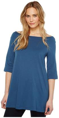 Nally & Millie Off Shoulder Tunic Women's Clothing