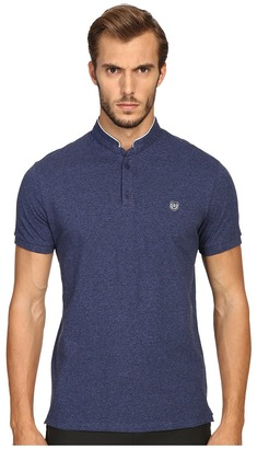 The Kooples - Sport Classic Officer Collar Polo Men's Short Sleeve Pullover $120 thestylecure.com