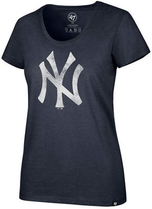 '47 Women New York Yankees Club Scoop Logo T-Shirt