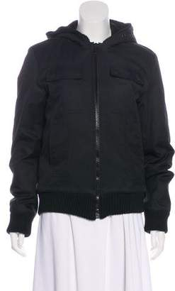 Christian Dior Hooded Puffer Jacket