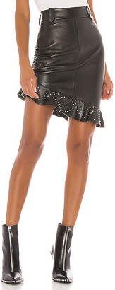 Understated Leather Cindy Skirt