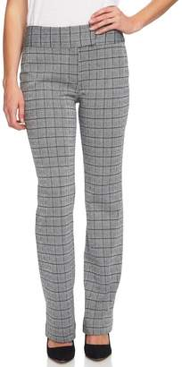 Cynthia Steffe CeCe by Glen Plaid Jacquard Mini Bootcut Pants