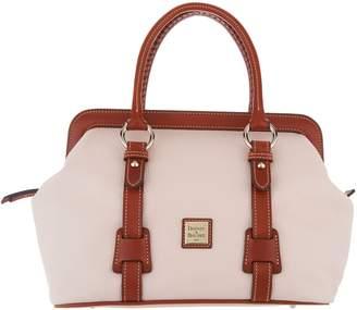 Dooney & Bourke Pebble Leather Satchel Handbag - Mitchell