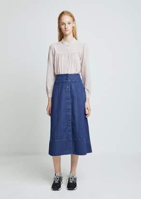A.P.C. Knight Denim Skirt