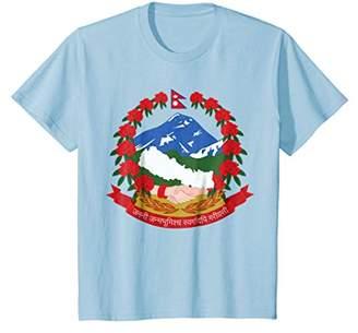 Nepal National Emblem Shirt - Nepalese Tee