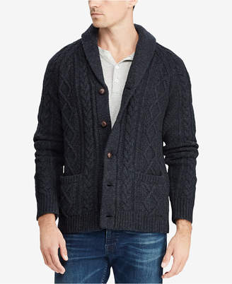 Polo Ralph Lauren Men's Cable-Knit Cardigan Sweater