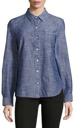 Tommy Hilfiger Chambray Roll-Tab Shirt