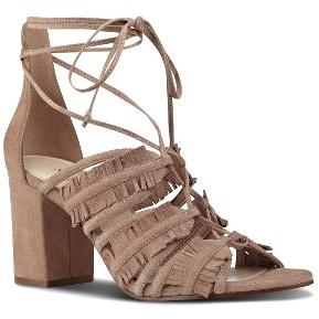 Women's Nine West Genie Lace-Up Sandal $98.95 thestylecure.com