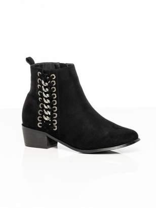 City Chic Citychic Mackenzie Ankle Boot - black