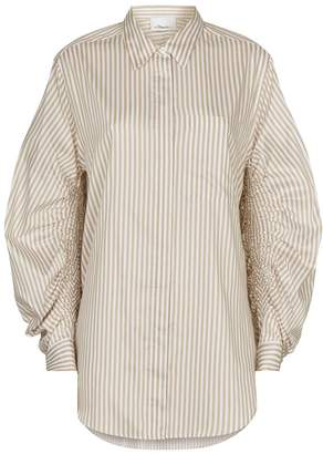 3.1 Phillip Lim Ruched Sleeve Shirt
