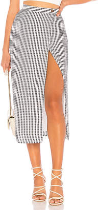 Privacy Please Johnson Midi Skirt