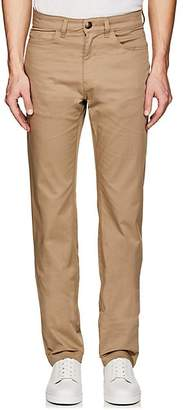 Luciano Barbera MEN'S STRETCH-COTTON 5-POCKET PANTS - BEIGE/TAN SIZE 36