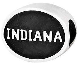 QVC Sterling Silver Indiana University Bead
