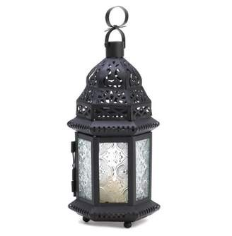 clear Gallery Of Light GLASS MOROCCAN LANTERN