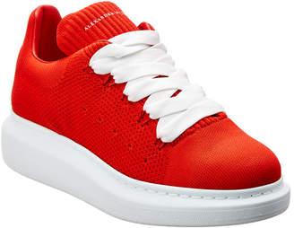 Alexander McQueen Oversized Sole Knitted Sneaker