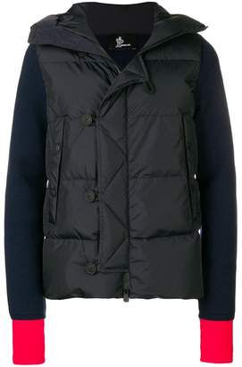 Moncler hooded cardi jacket