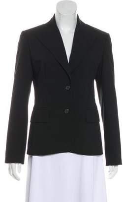 MICHAEL Michael Kors Peak-Lapel Button-Up Blazer