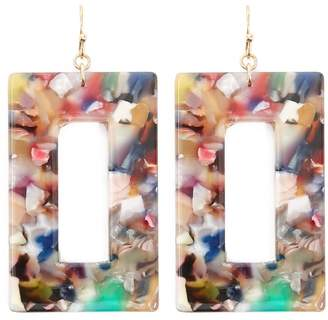 Forever 21 Rectangle Drop Earrings