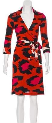Diane von Furstenberg Silk Justin Dress