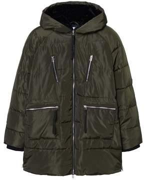 Violeta BY MANGO Hood quilted coat