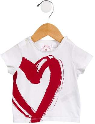 Burberry Girls' Printed Short Sleeve T-Shirt