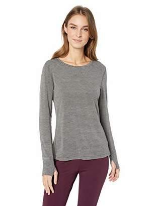 Amazon Essentials Women's Studio Long-Sleeve Lightweight Patterned T-Shirt