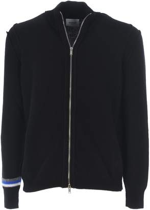 Dondup Hooded Zipped Sweater