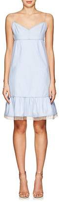 Marc Jacobs Women's Ruffle-Trimmed Cotton Oxford Dress