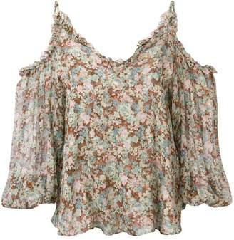 Stella McCartney meadow floral top