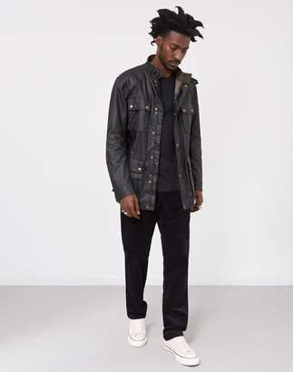 Belstaff Roadmaster Wax Jacket Black