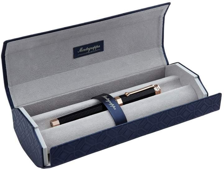 Montegrappa NeroUno Linea Rollerball Pen, Black