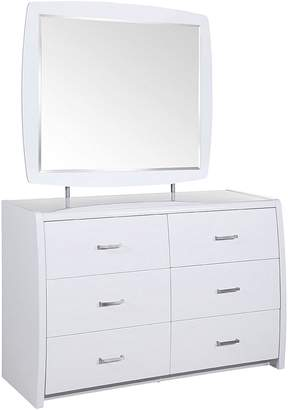 Dover Mason Dressing Table Waverley Dressing Table and Mirror, White