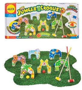 Alex Jungle Combo Croquet Game Set
