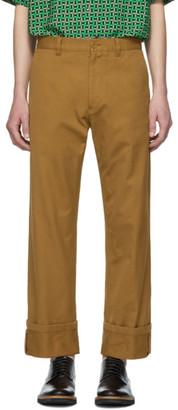 Dries Van Noten Brown Petrick Trousers