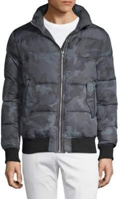 Slate & Stone Packable Camo Down Jacket