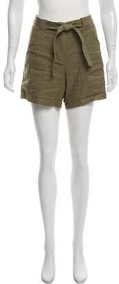 A.L.C. Linen Mid-Rise Shorts
