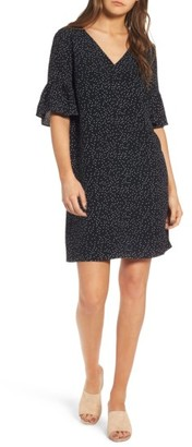 Women's Madewell Flutter Sleeve Dress $148 thestylecure.com