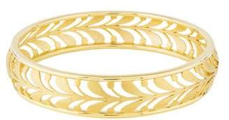 Tiffany & Co. 18K Villa Palm Bangle