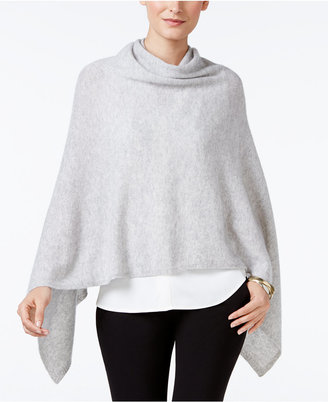 Charter Club Cashmere Poncho, Only at Macy's $149 thestylecure.com