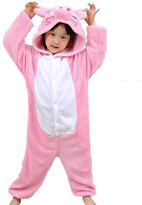 Z-Chen Kids Boys Girls Animal Costume Onesie Pyjamas Cosplay