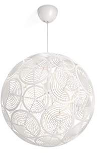 Philips myLiving Ring Modular Ceiling Pendant Light, White – Requires 1 x E27 Bulb