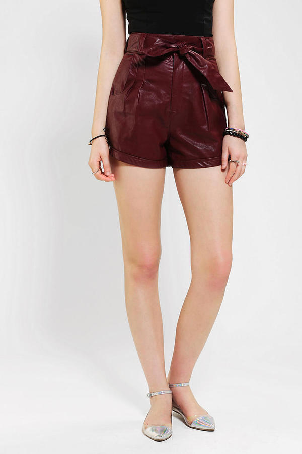 Urban Outfitters Lovers & Friends Beauty Vegan Leather Short