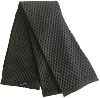 Jil Sander Wool Scarf & Pocket Square