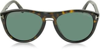 Tom Ford KURT FT0347 Aviator Sunglasses