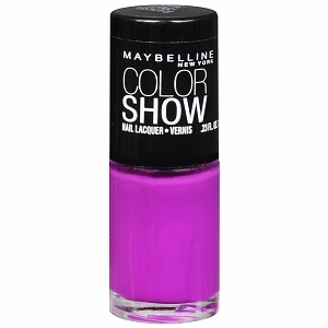 Maybelline Color Show Nail Lacquer, Fuchsia Fever