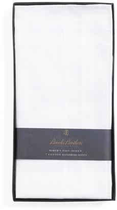 Brooks Brothers Pure Cotton Handkerchiefs - 7pk