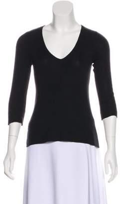 Prada Long Sleeve V-Neck Sweater Long Sleeve V-Neck Sweater