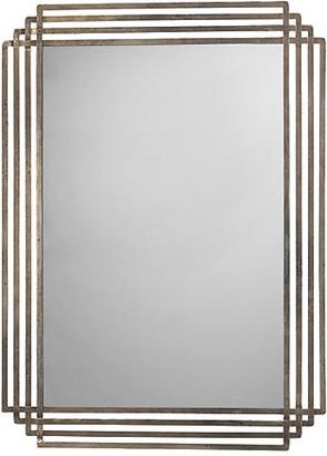 Jamie Young Serai Wall Mirror - Antiqued Silver