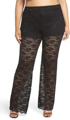 Leith High Waist Lace Pants